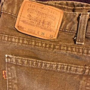 Men's Levis 550 jeans